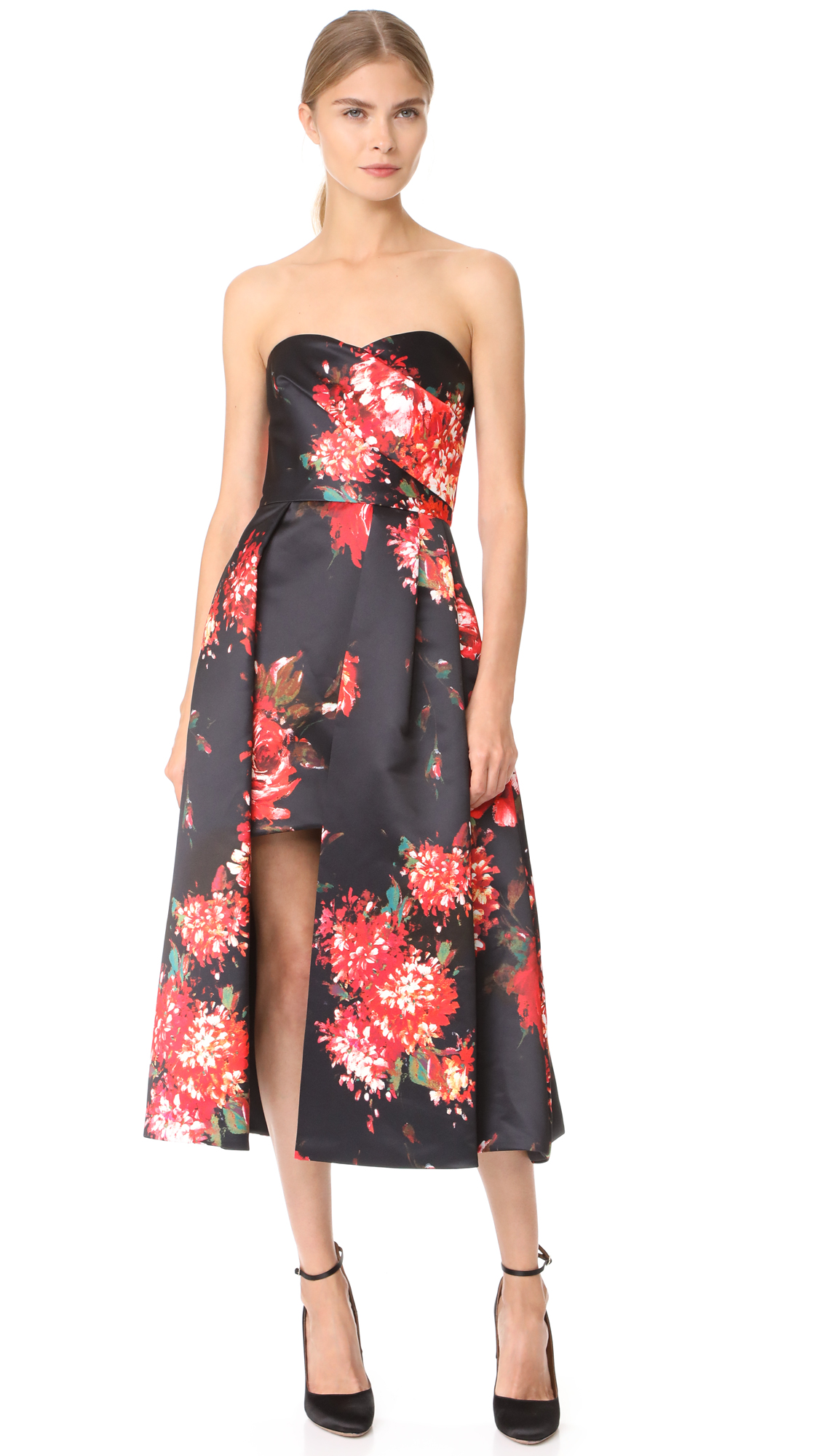 Floral Print Dress by Black Halo
